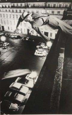 """Mannequin Toss, Paris 1978"" Original Silver Gelatin by Helmut Newton"