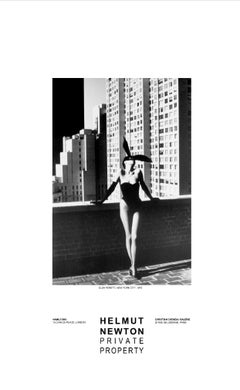 Elsa Peretti, New York, 1975 Private Property Exhibition Poster by Helmut Newton