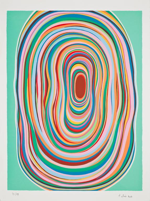 Sturmund I - Print by Tulio de Sagastizabal