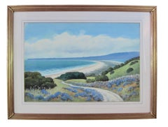 California landscape near Stinson Beach, CA - coastal scene by Edwin Siegfried