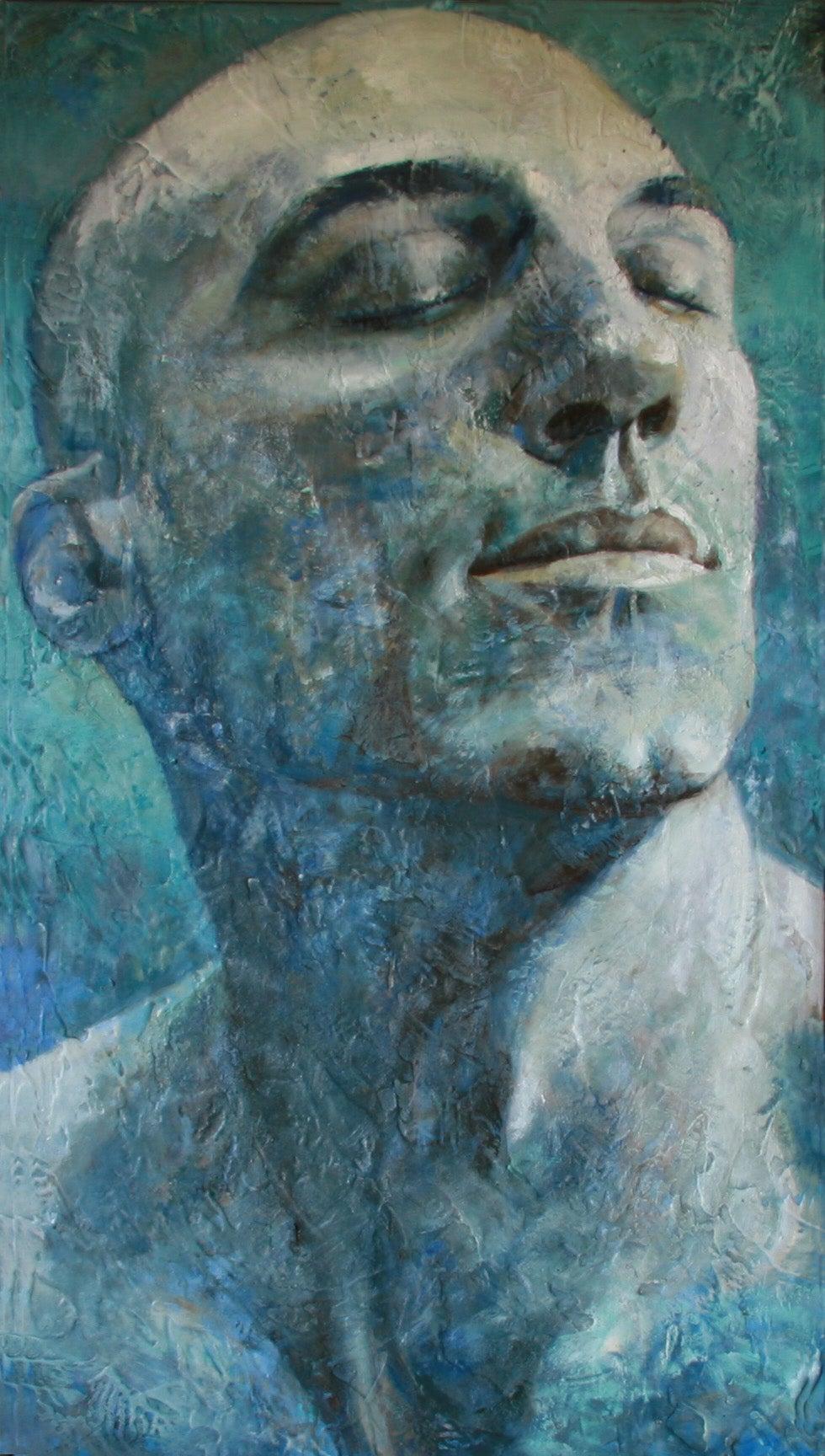 11-4-11 - 21st Century, Contemporary, Portrait Painting, Oil on Canvas