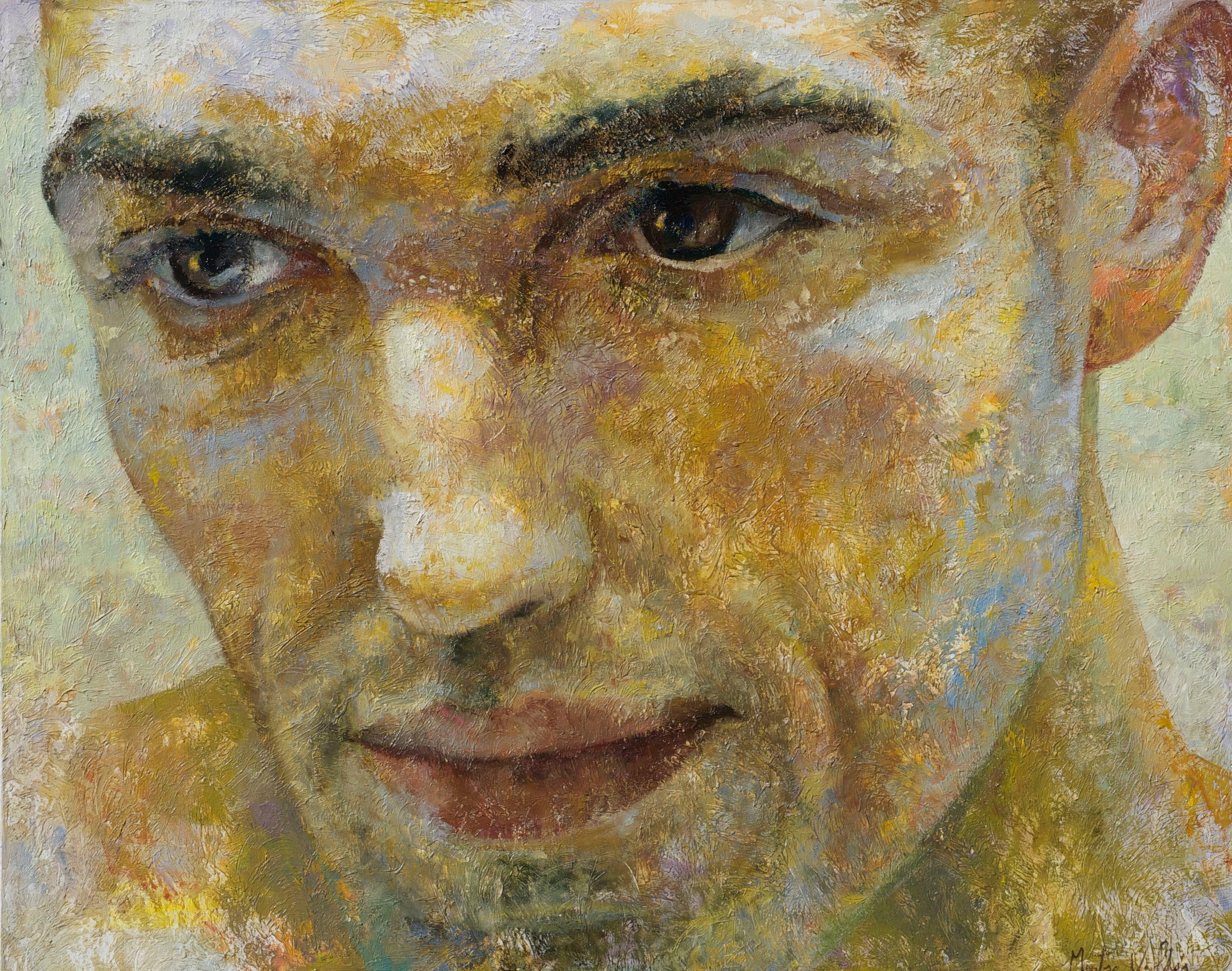 1-3-15 - 21st Century, Contemporary, Portrait Painting, Oil on Canvas