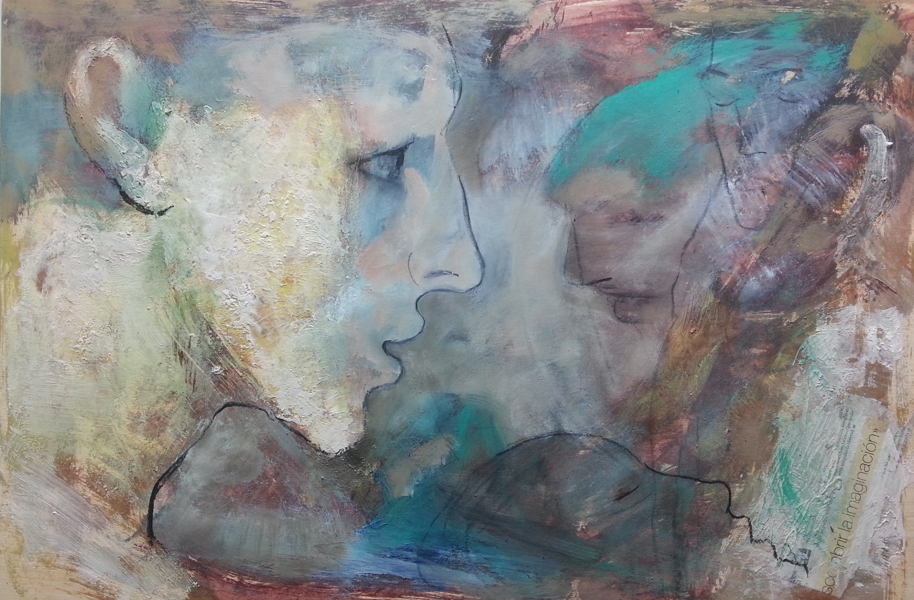 1B-15 - 21st Century, Contemporary, Figurative Painting, Oil on Wood Panel