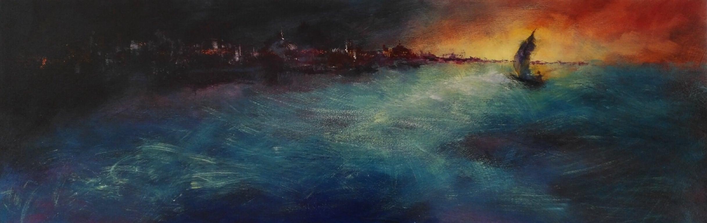 De Tornada - 21st Century, Contemporary, Seascape Painting, Oil on Canvas