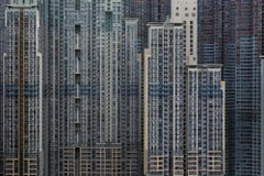 Architecture of Density 46, Michael Wolf, Framed in Black