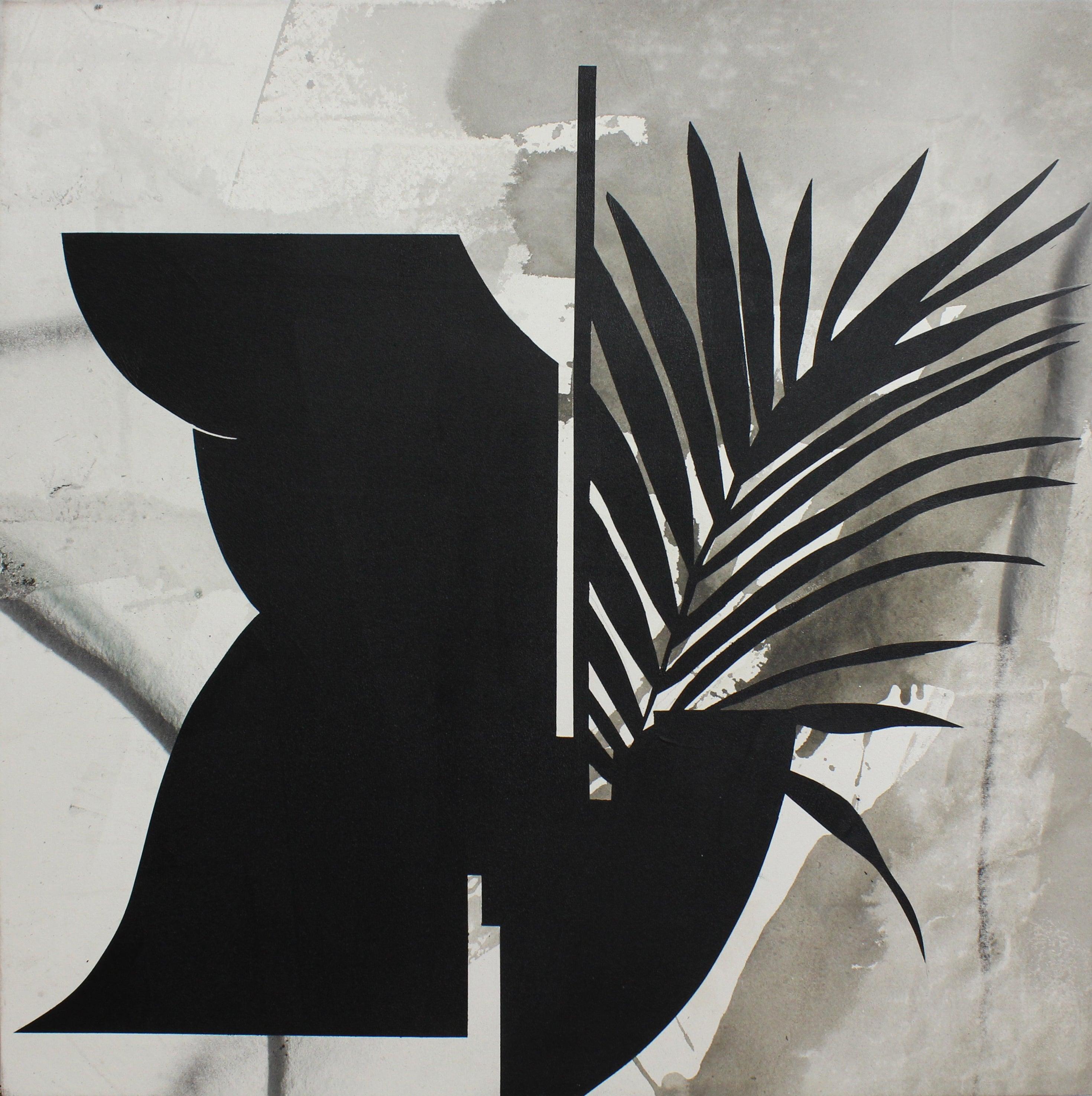 Black And White Painting Kathryn Macnaughton Acrylic On Canvas