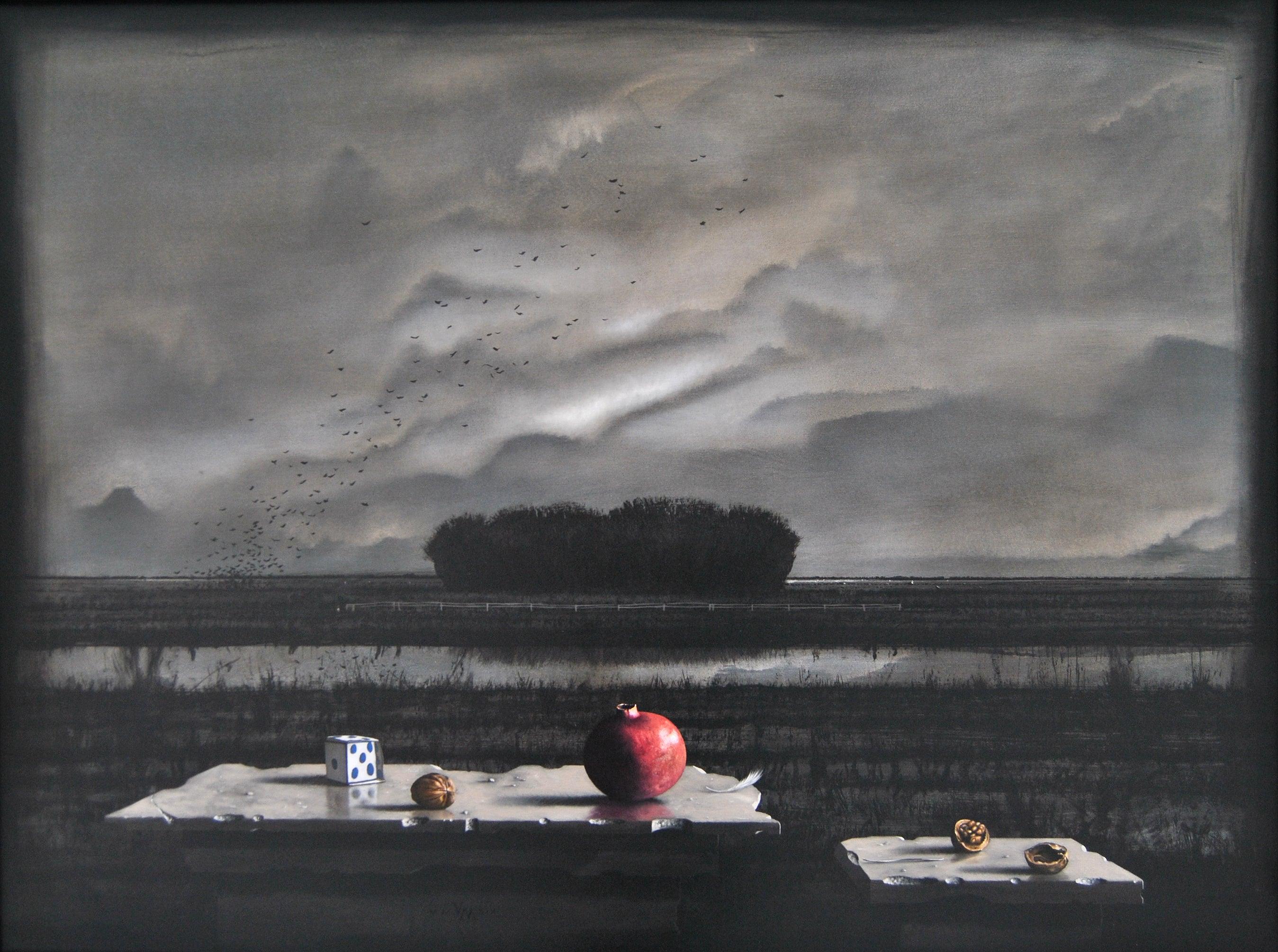 Souvenir D'une Restriction - Victor Muller, 21st Century Contemporary Painting