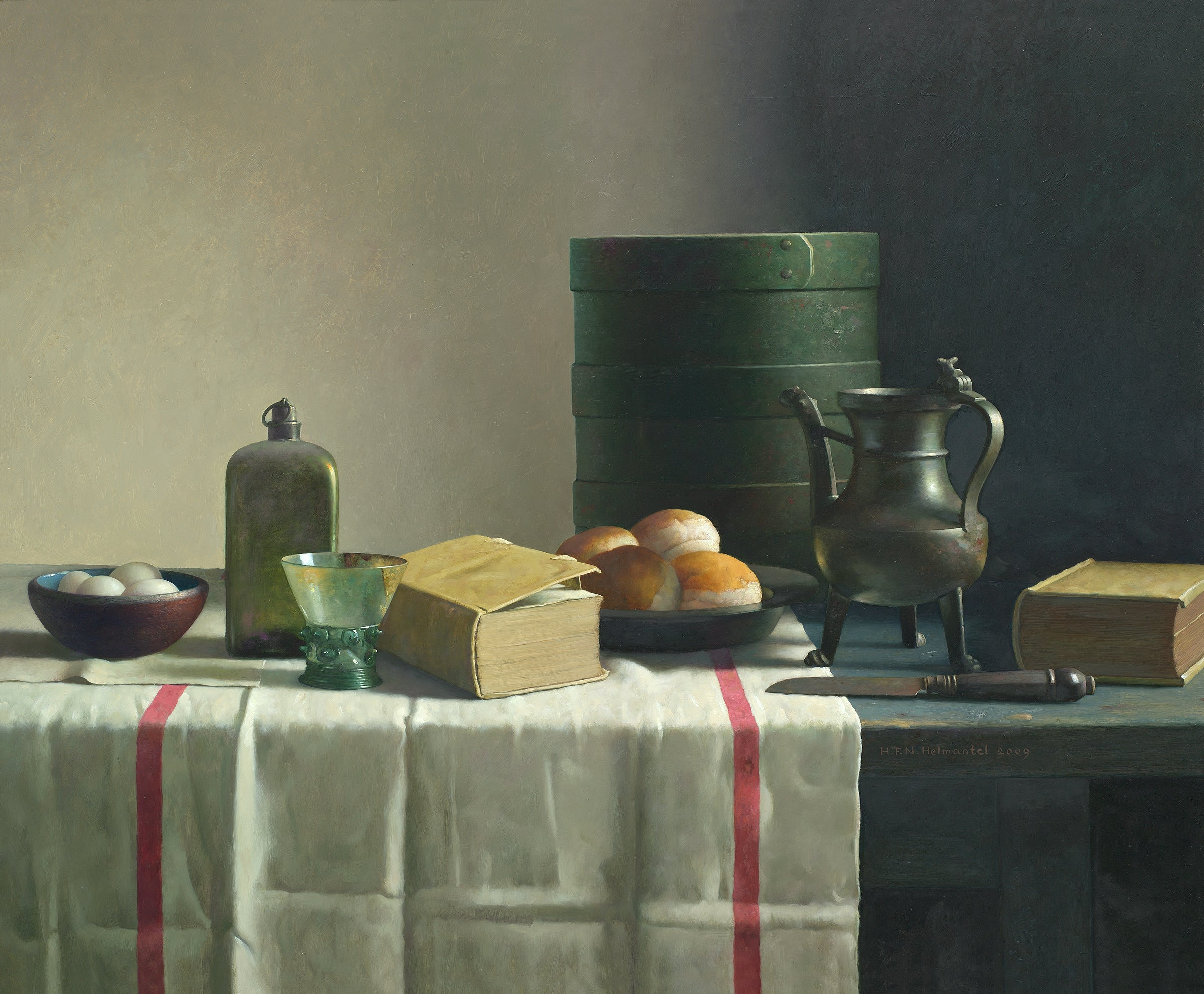 Still-Life with  Jar - 21st Century Contemporary by Dutch Master Henk Helmantel