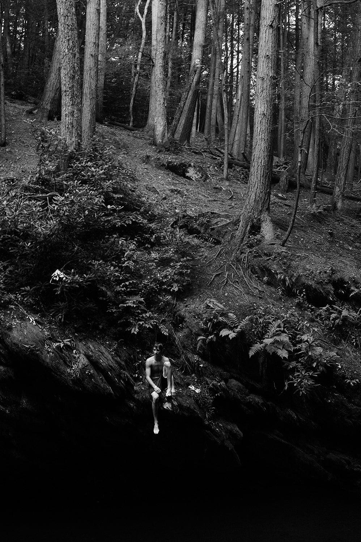 Brian Pearson Black and White Photograph - Jesse