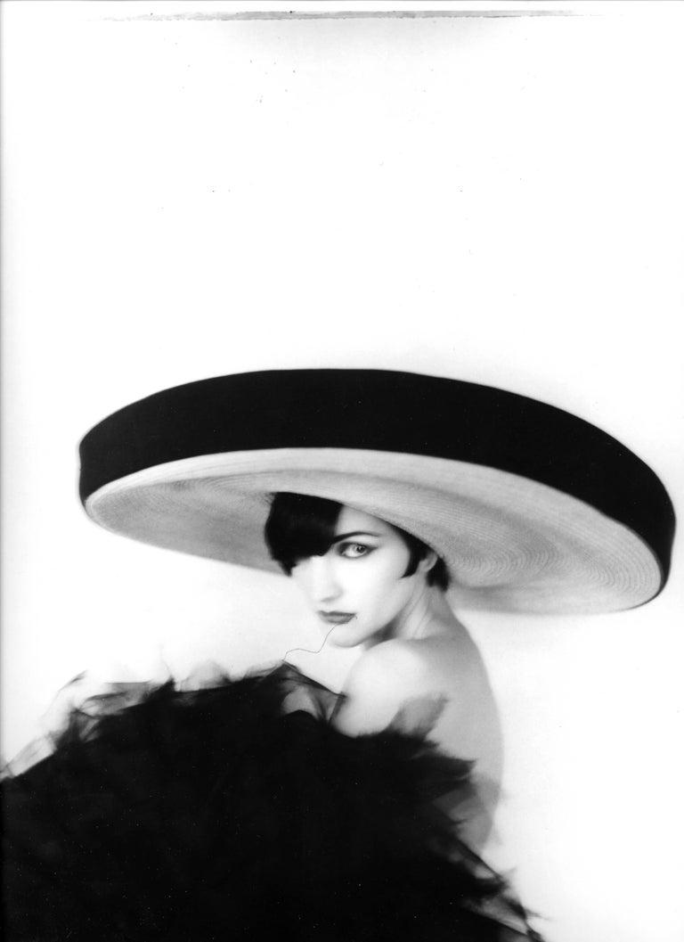Todd Burris Portrait Photograph - Chanel Vertical, 1990