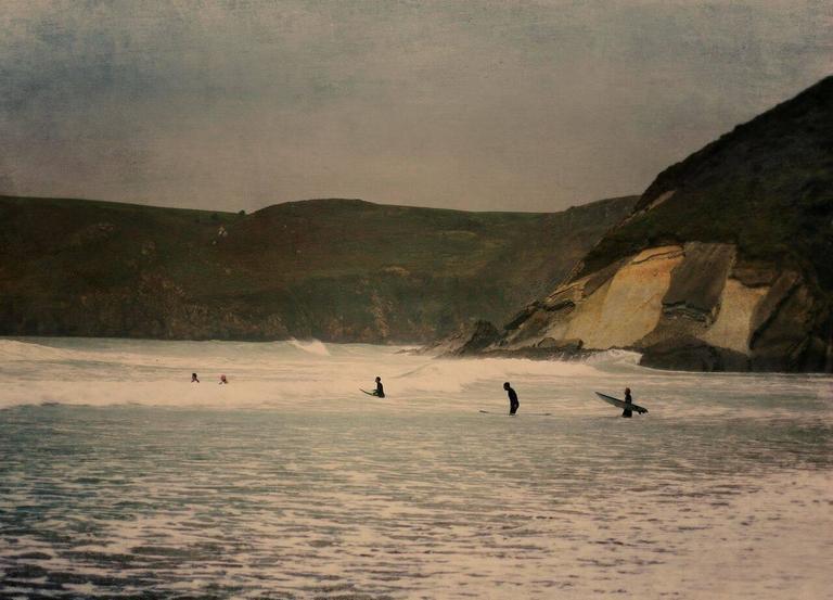 Newgale Surfers II
