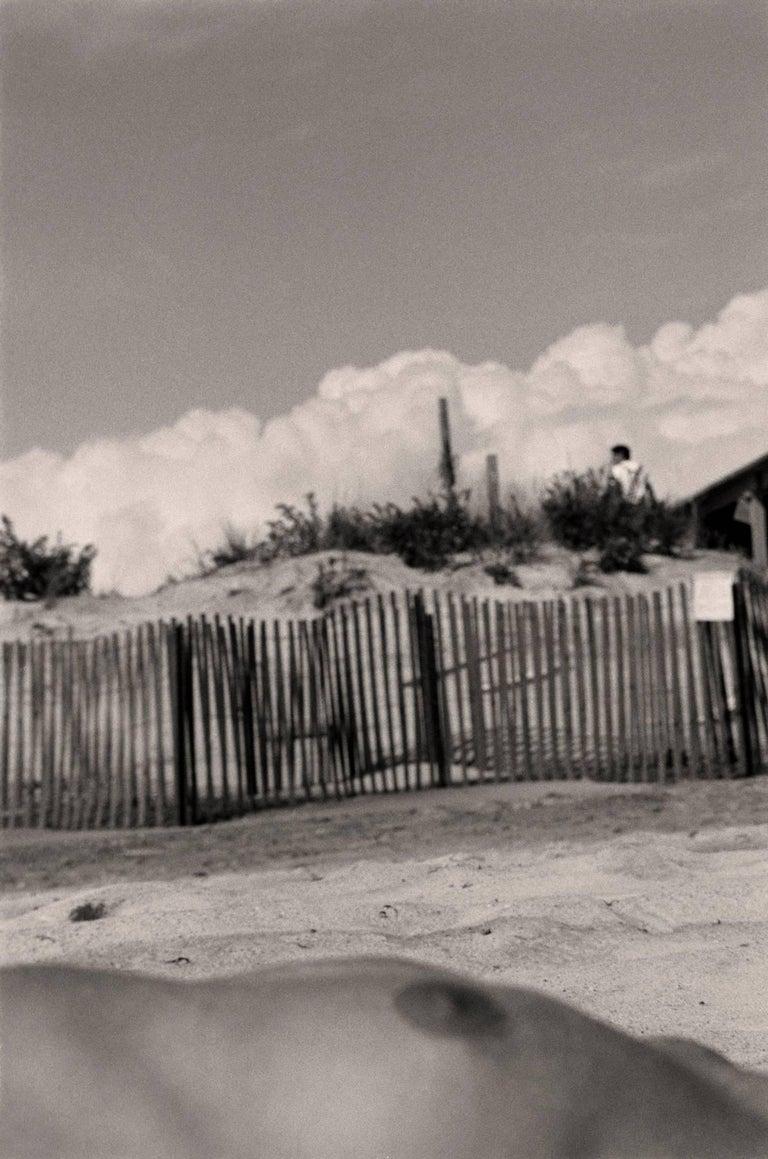 Robin Rice Black and White Photograph - Mindy, Hamptons, NY, 1985