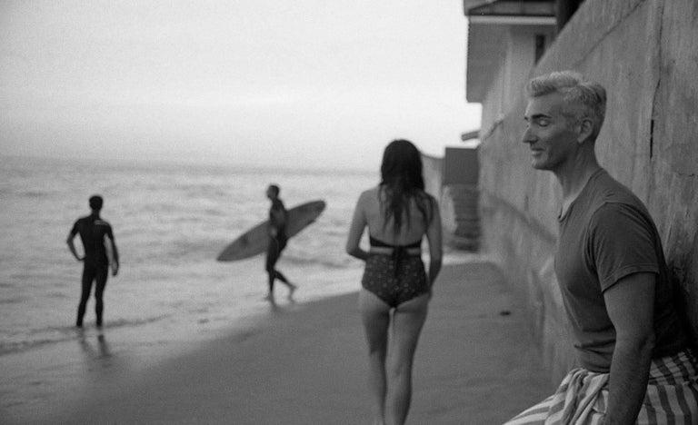 Brian with Eyes Closed with Kim. Miramer Beach, Montecito,CA