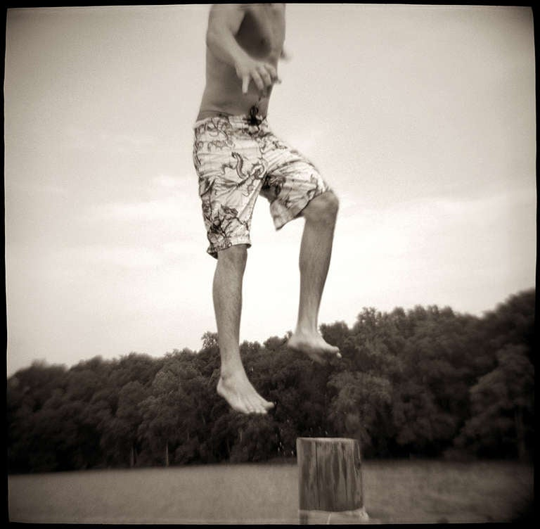 Gordon Stettinius Black and White Photograph - Luke, Flying Point, VA