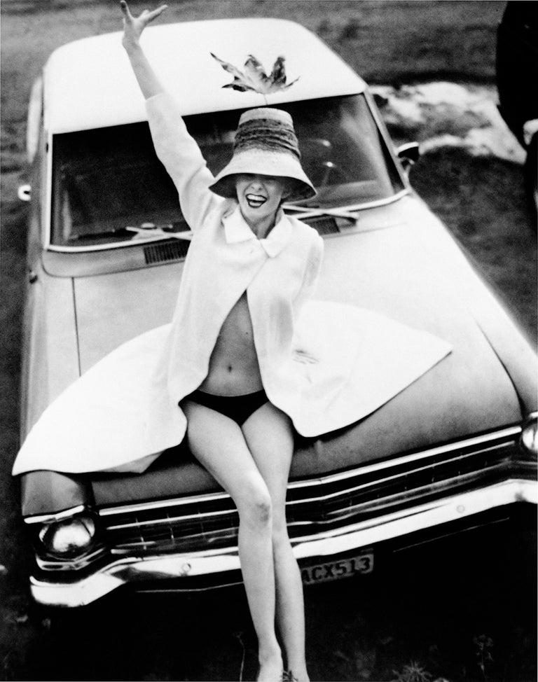 Todd Burris Black and White Photograph - Malibu