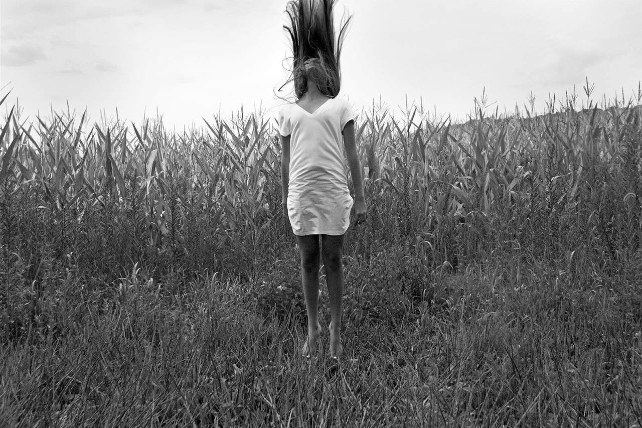 Brian Pearson Black and White Photograph - Julia, Western NJ