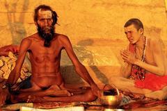 Guru Darshan by Chela, Berares, India