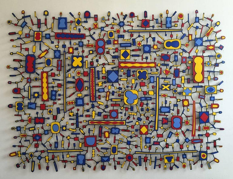 Tom Nussbaum Abstract Sculpture - East Orange Boogie Woogie