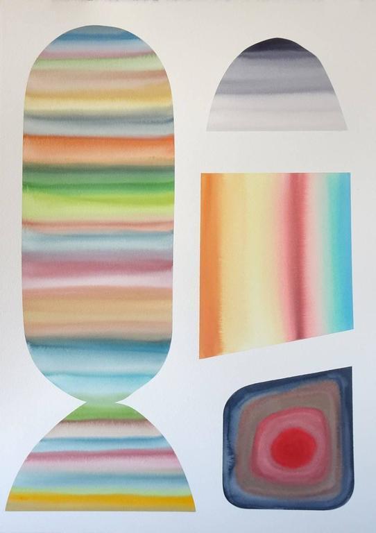 Sam Schonzeit Abstract Drawing - Untitled