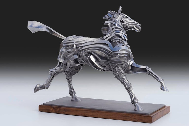 George's Horse - Sculpture by Gil Bruvel