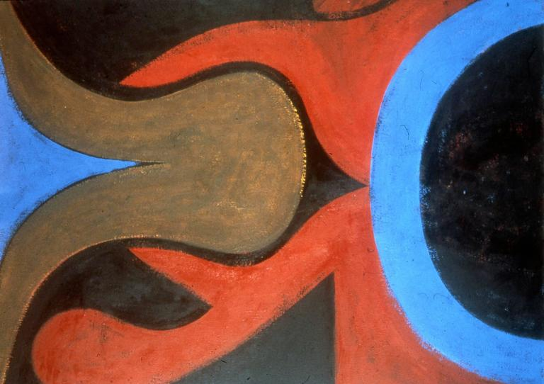 Fritz Bultman Abstract Painting - Untitled 14.34