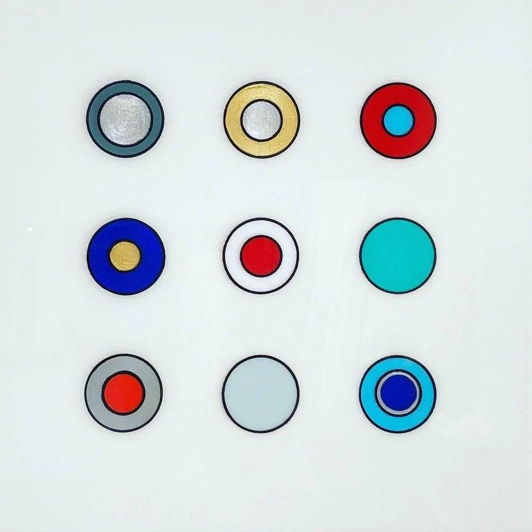 Max Ryan Abstract Painting - Skip a Beat