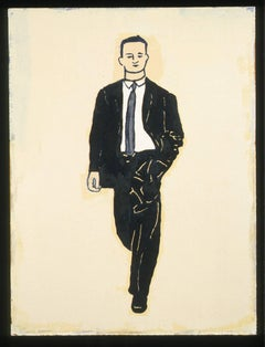 Untitled (suit, striding) from the series A Job to Do