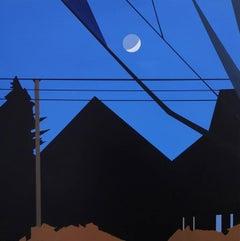 Moon Over the Neighbor's Barn