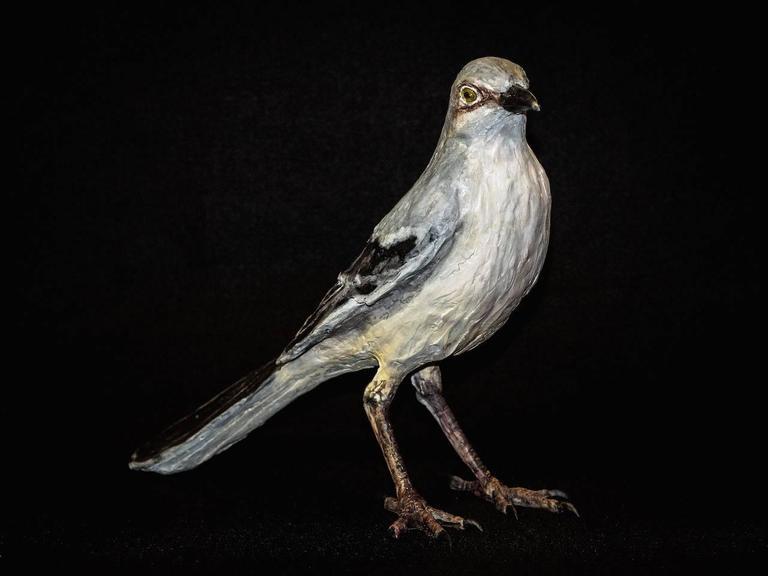 Mockingbird - Sculpture by Nall