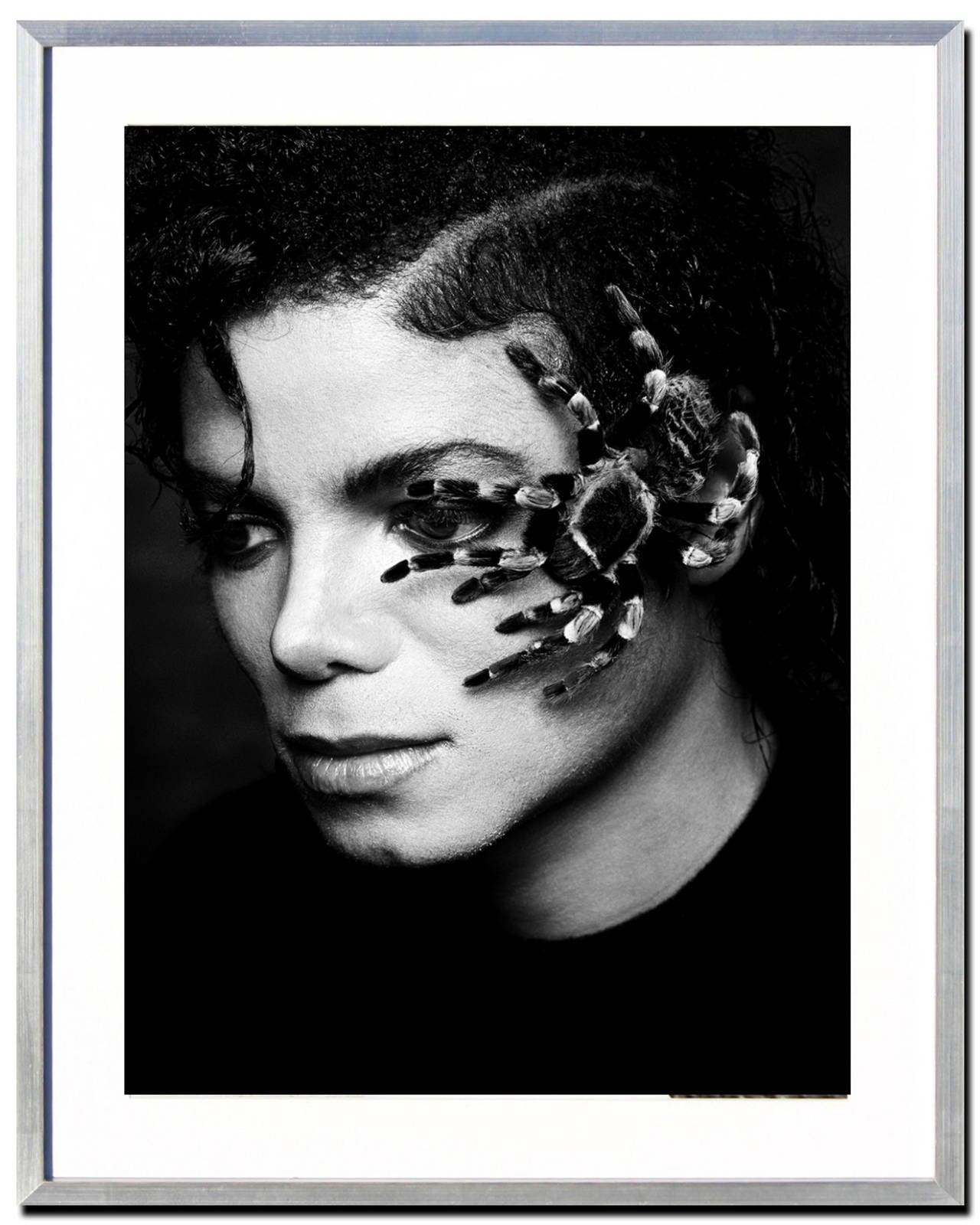 Greg Gorman - Michael Jackson Spider at 1stdibs бритни спирс