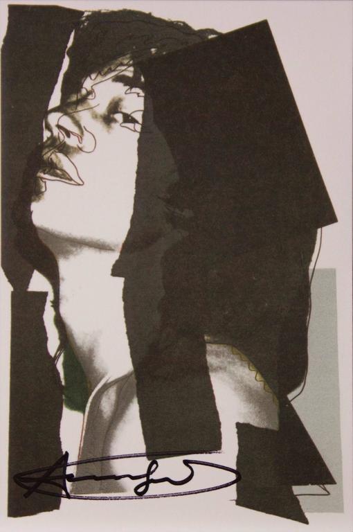 Mick Jagger Announcement Card, 1975 -10