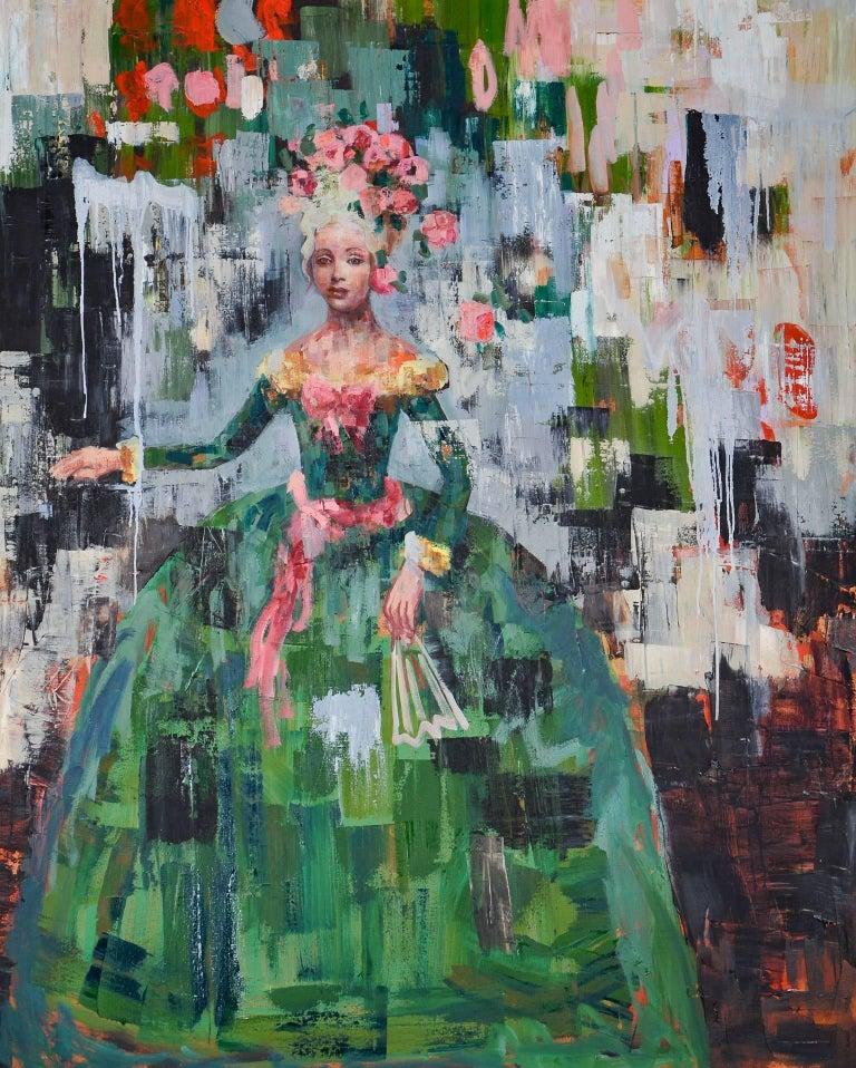 Rimi Yang Figurative Painting - Rose Rose