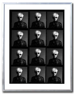 Andy Warhol Contact Sheet