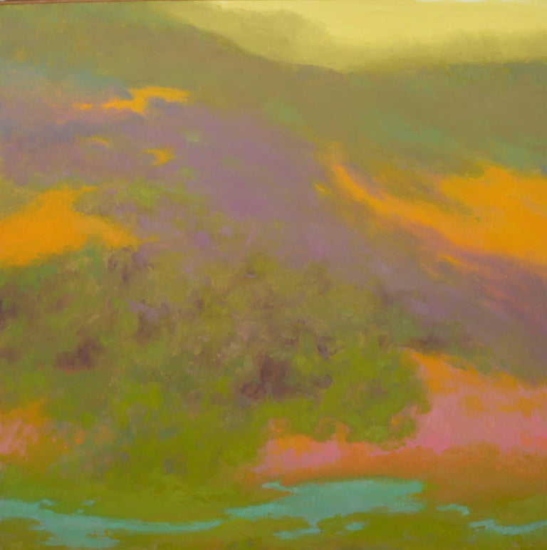 Richard Mayhew Landscape Painting - Above and Beyond
