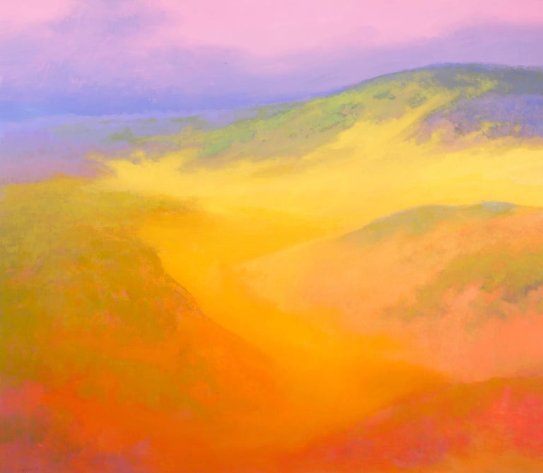 Richard Mayhew Landscape Painting - Transgression #2