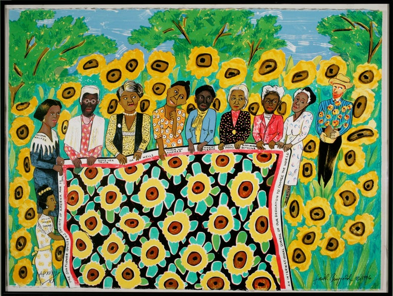 Sunflower Quilting Bee at Arles