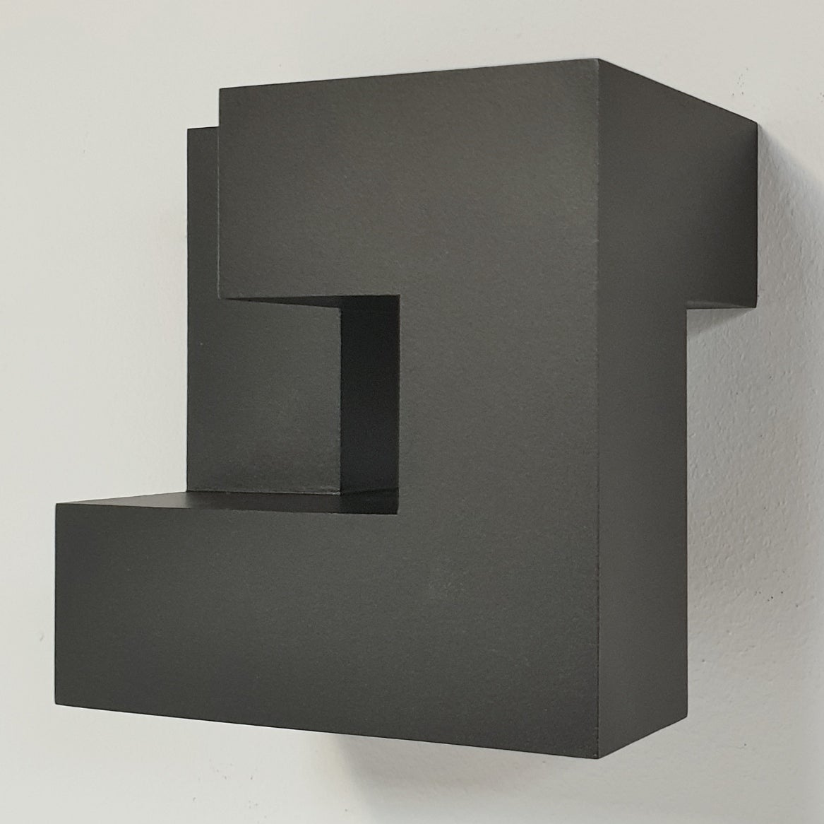 Carré architectural III no. 5/15 - contemporary modern abstract wall sculpture