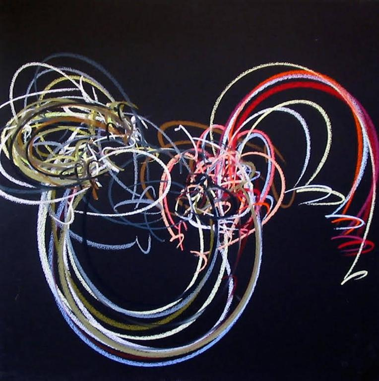 Pamela Harris Abstract Drawing - Harris 021308-1