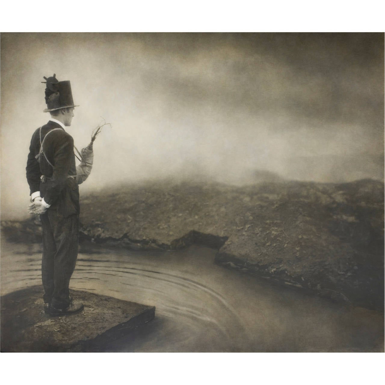 Robert and Shana ParkeHarrison Black and White Photograph - Promisedland