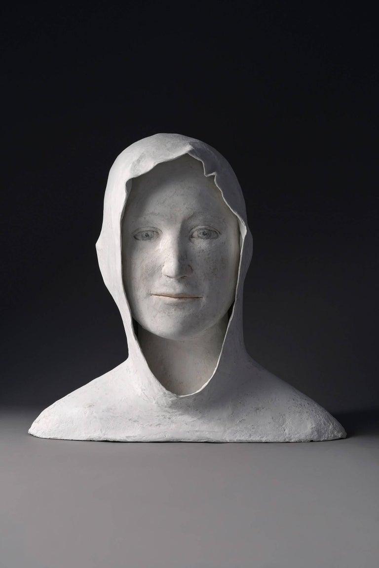 Agnes Baillon Figurative Sculpture - Grand Buste de Jeune