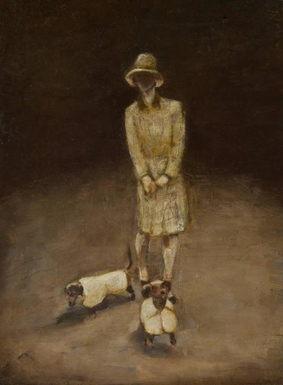 The Lady with the Dogs