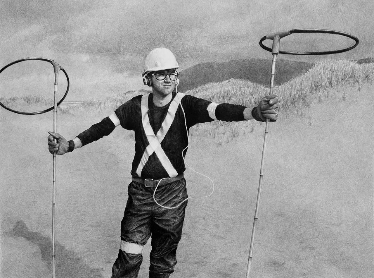 Pierpont Spent Hours Ironing His New Signal Captain Uniform