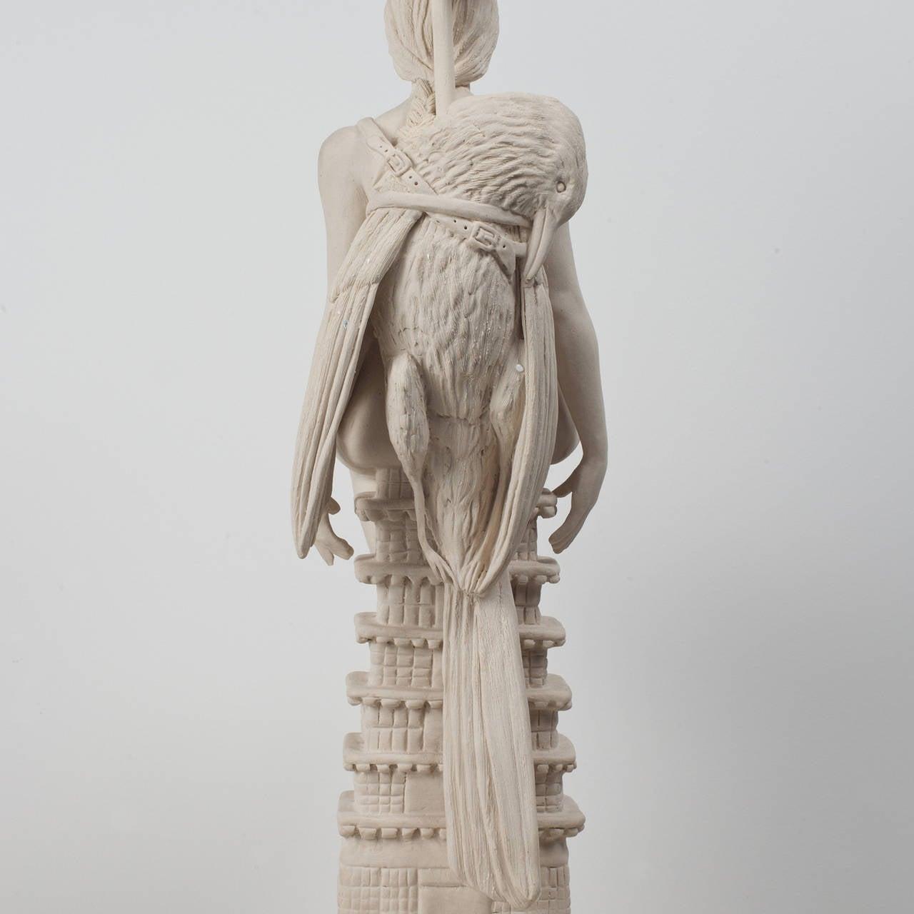She Bird Temple - Conceptual Sculpture by Tricia Cline