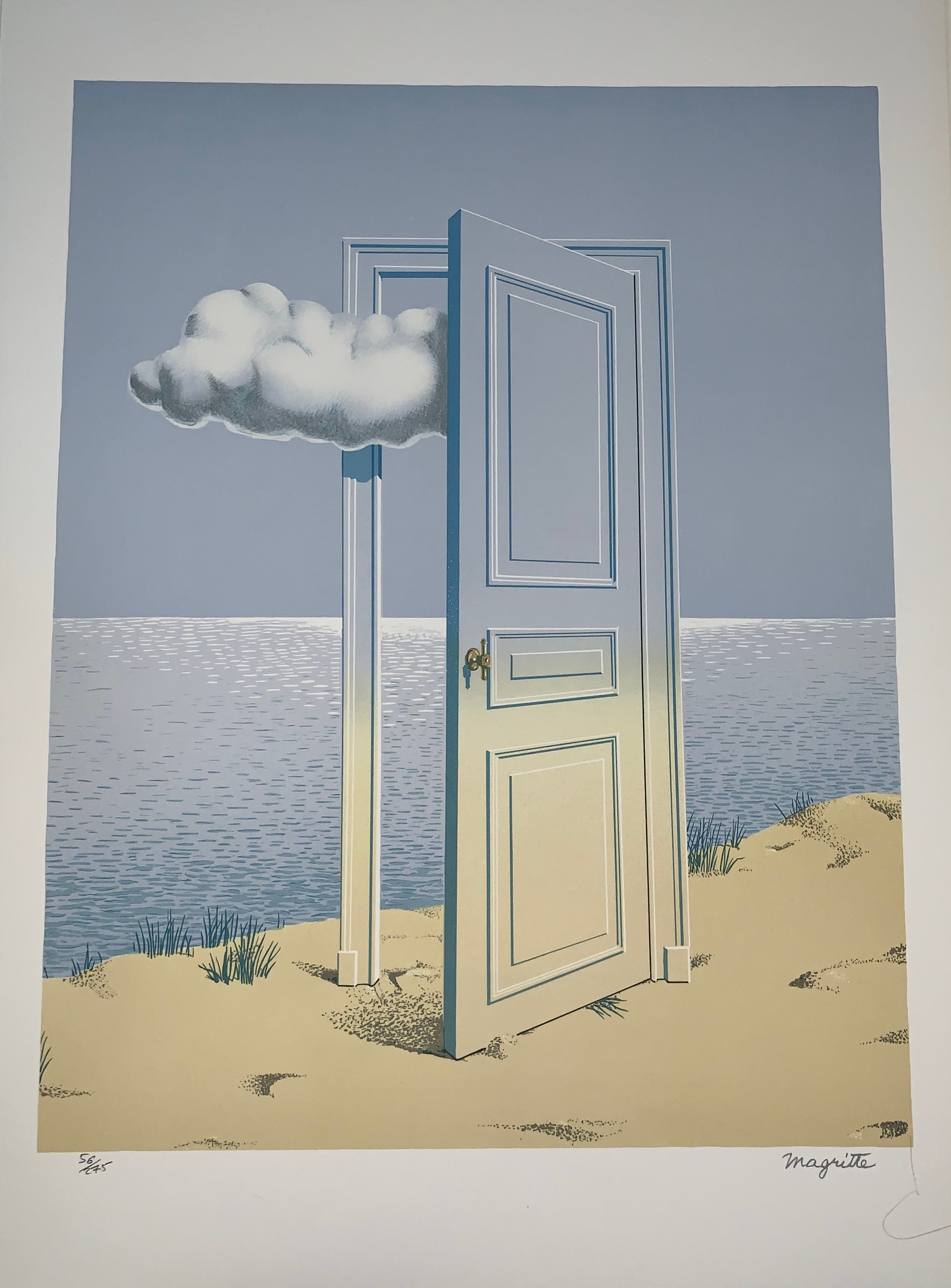 c0b4c72dbdd after) René Magritte - La Victoire - 20th Century