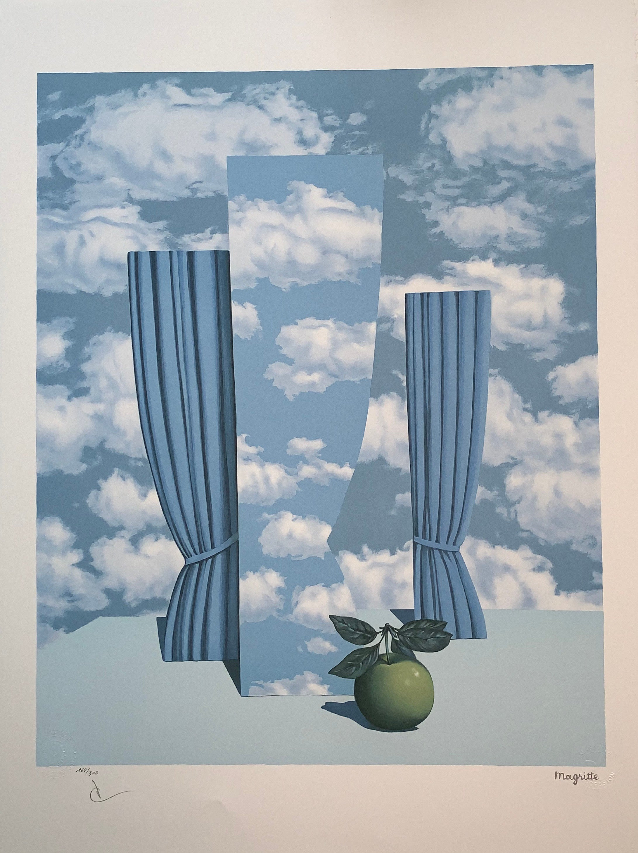 f6fb9d631d4 after) René Magritte - Le Beau Monde - 20th Century