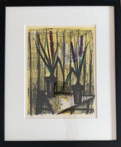 Hyacinths - Color Lithograph - Bernard Buffet