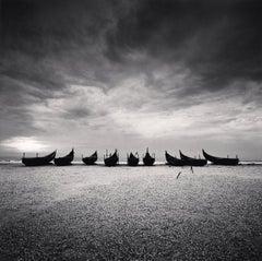 Nine Boats, Andakarnnazi Beach, Kerala, India, 2008