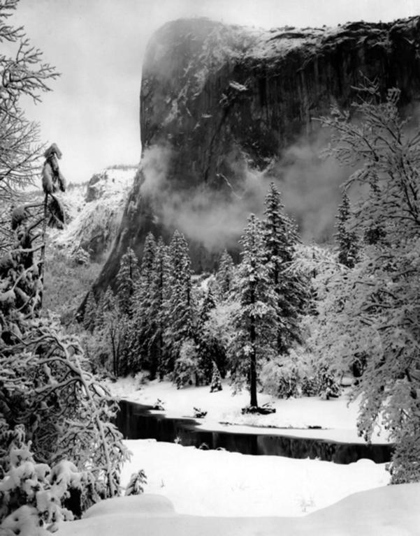 Ansel Adams - El Capitan, Winter 1