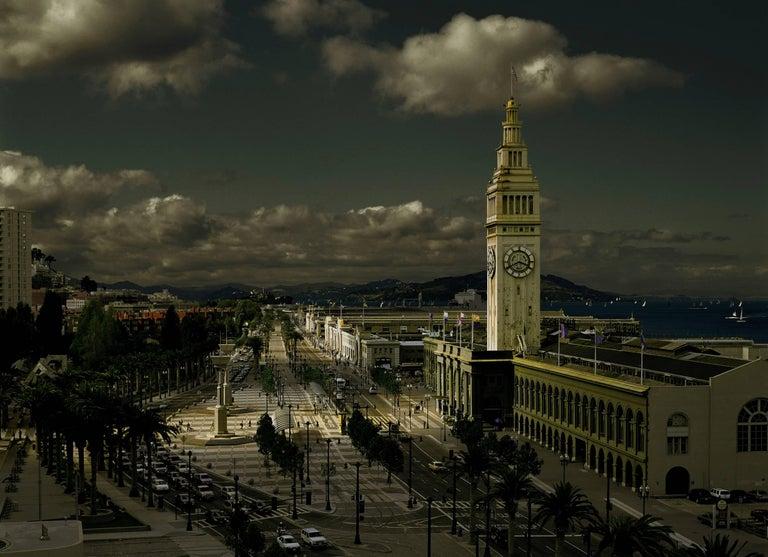 Ira Kahn Color Photograph - Canaletto San Francisco