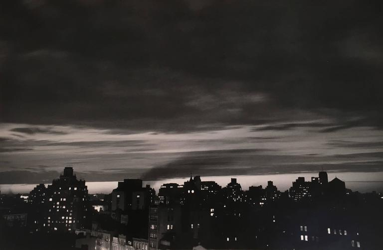 Homage to Robert Capa, 1954 (New York Skyline)